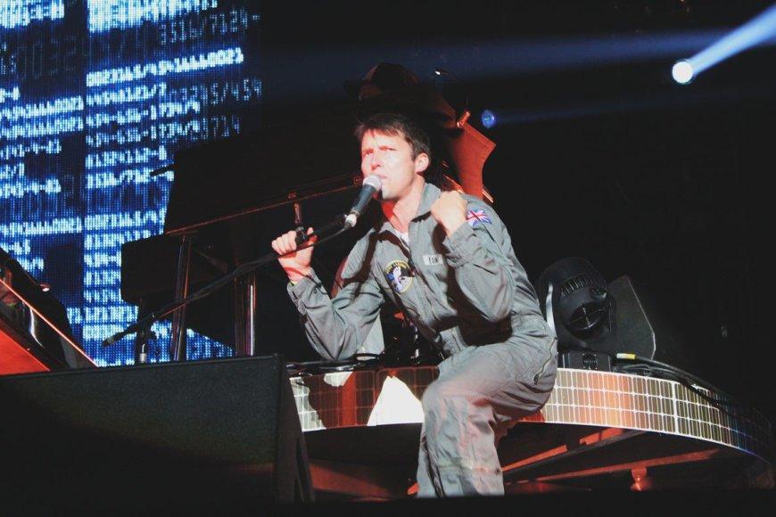 Jameso Blunto koncertas Vilniuje
