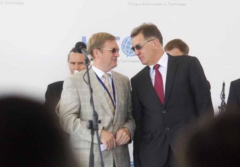 Stasys Dailydka ir Algirdas Butekvičius