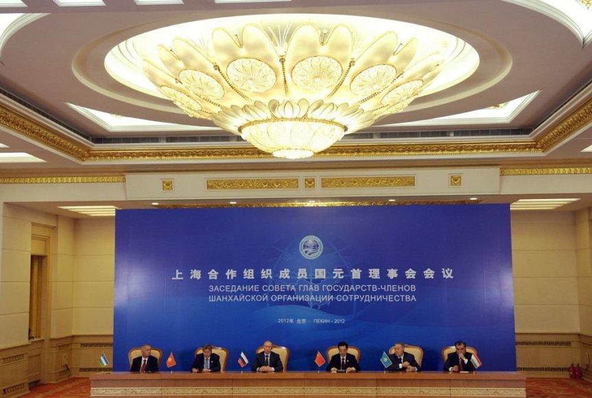 Šanchajaus bendradarbiavimo organizacijos susitikimas Pekine