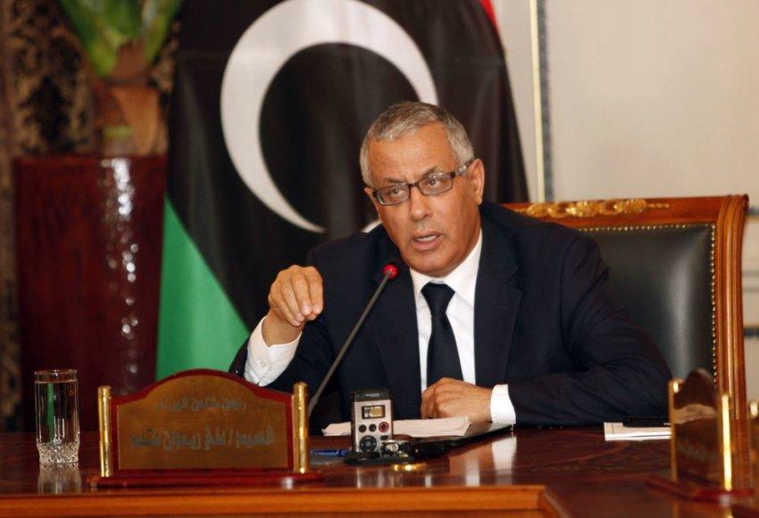 Libijos premjeras Ali Zeidanas