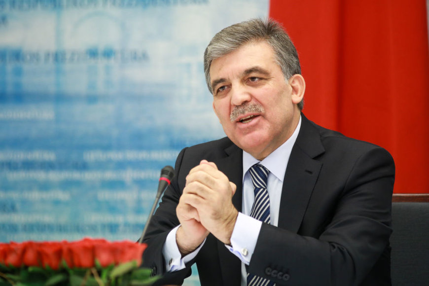 Turkijos prezidentas Abdullah Gulas