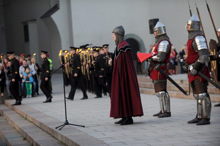 Mėlynųjų vandenų mūšio minėjimas Vilniuje