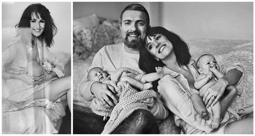 Katažinos ir Deivydo Zvonkų šeimos fotosesija