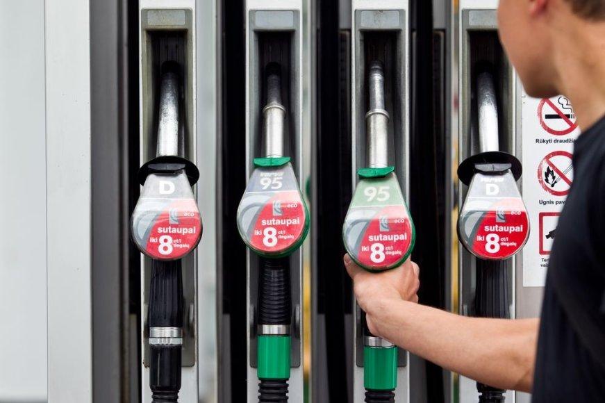 Degalų kainos artėja prie naujų aukštumų