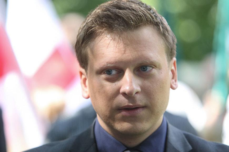 Tėvynės sąjungos-Lietuvos krikščionių demokratų (TS-LKD) partijos Vilniaus sueigos pirmininko pavaduotojas Valdas Benkunskas