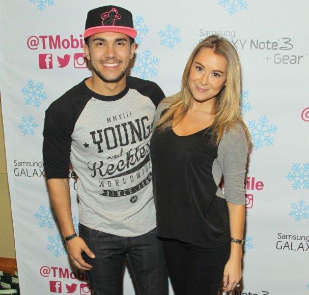 Carlosas Pena ir Alexa Vega
