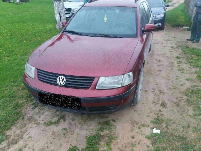 """Sulaikytas """"VW Passat"""" automobilis"""