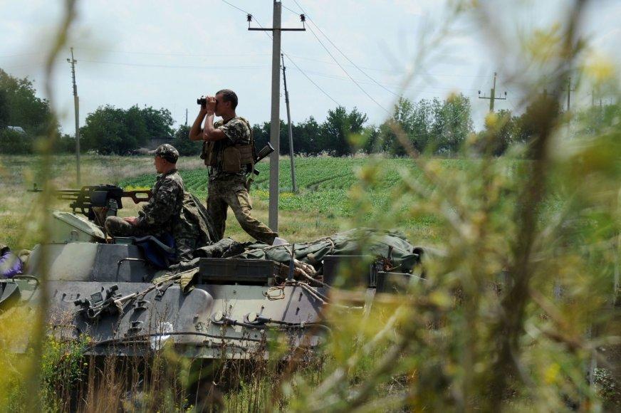 Ukrainos kariuomenė Rytų Ukrainoje