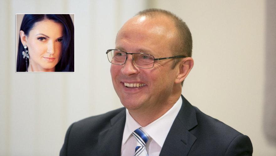 Jurgita Kasperavičiūtė ir Ričardas Malinauskas