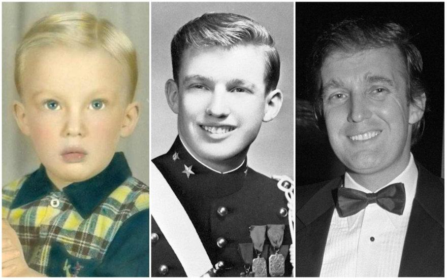 Donaldo Trumpo išvaizdos pokyčiai