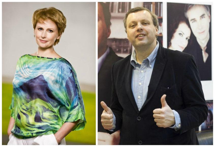 Rūta Janutienė ir Andrius Užkalnis