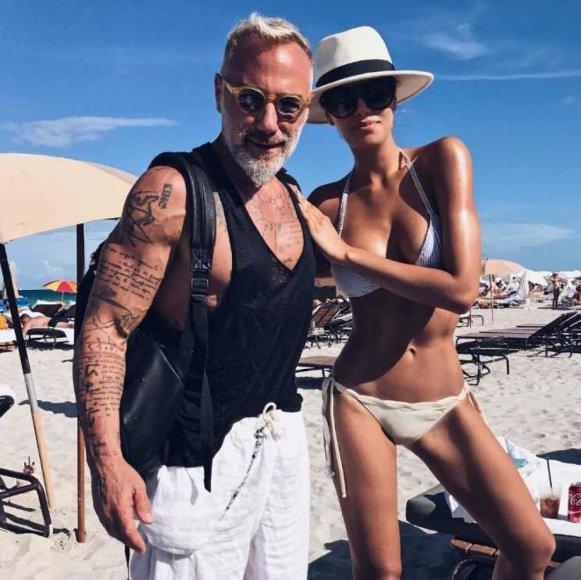 """Instagram"" nuotr./Gianluca Vacchi ir Ariadna Gutierrez"