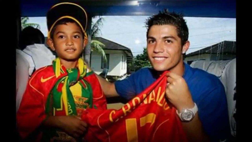 Martunis ir Cristiano Ronaldo