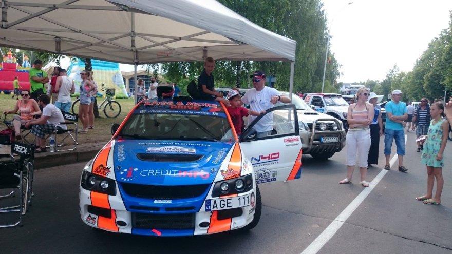 Ramūno Čapkausko automobilis