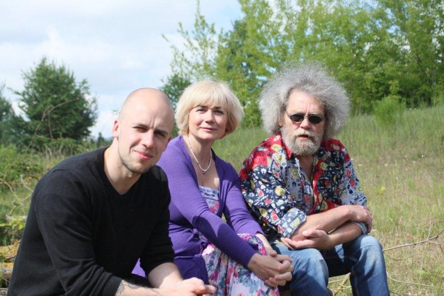 Vytauto Kernagio fondo archyvo nuotr./Vidas Bareikis, Ilona Balsytė, Andrius Kulikauskas