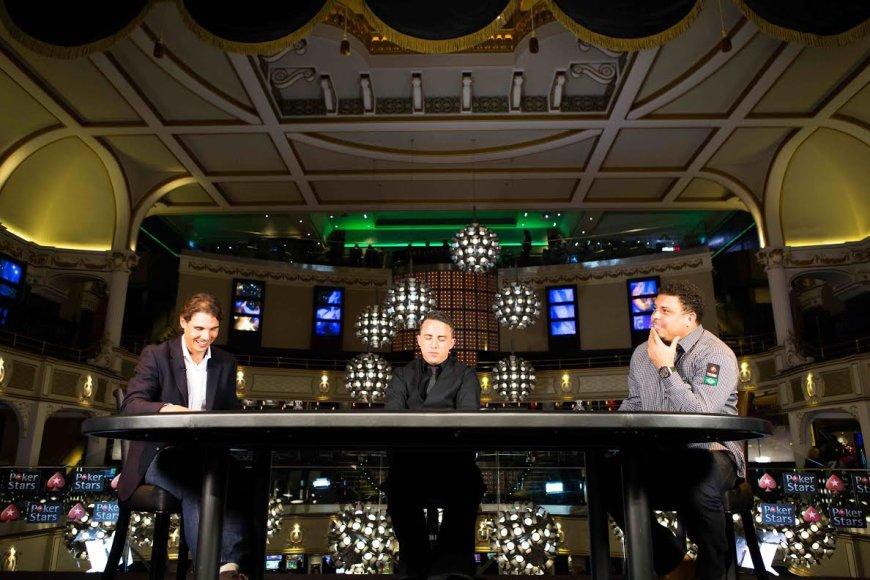 Rafaelio Nadalio ir Ronaldo dvikova / PokerStars.net nuotr.