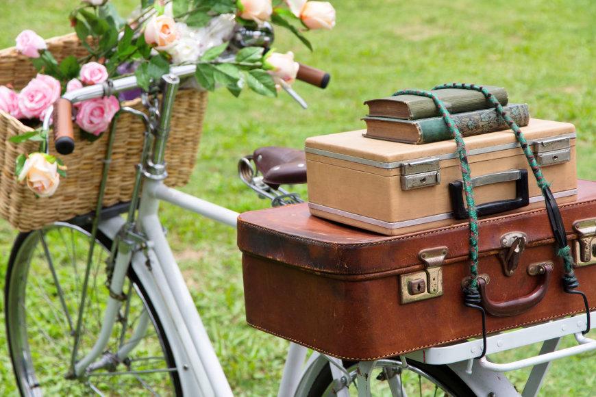 Retrostiliaus dviratis.