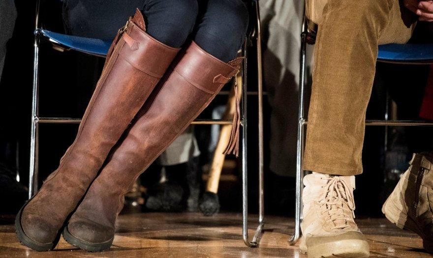 """""""Scanpix"""" nuotr./Kembridžo hercogienės Catherine batai (2016 m. rugsėjis)"""