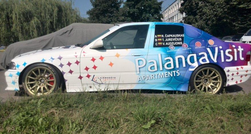 """""""Palanga visit"""" komandos automobilis"""