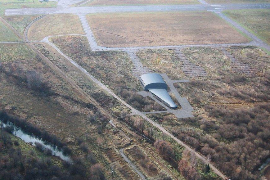 Naujasis gelbėjimo ir pieškų stotis atrodys štai taip