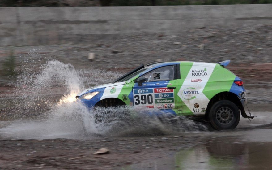 """Agrorodeo"" komanda penkto Dakaro etapo metu"
