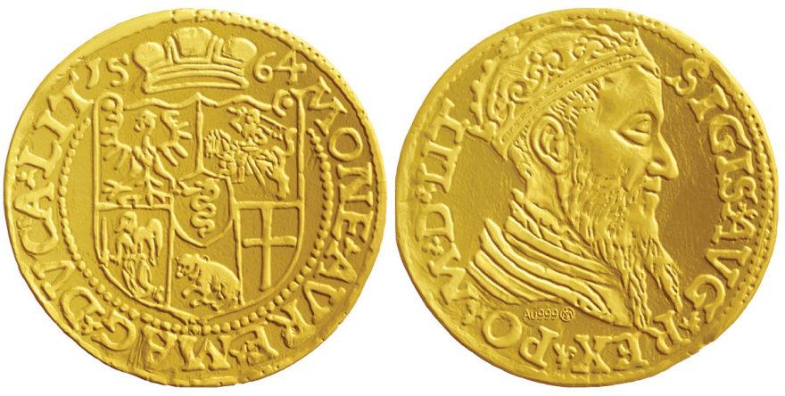1 dukato monetos replika