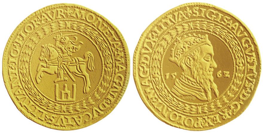 10 dukatų monetos replika
