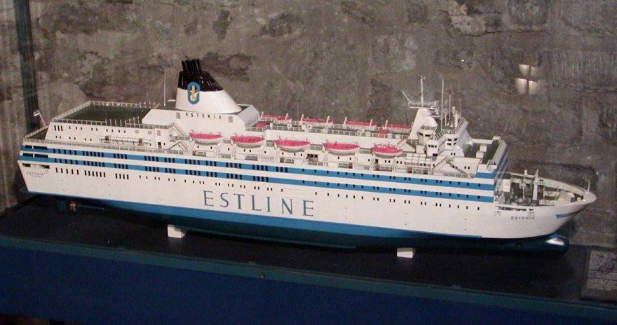 """Kelto """"MS Estonia"""" modelis"""