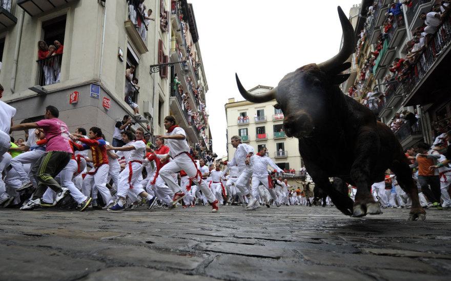 Bulių bėgimas Pomplonoje