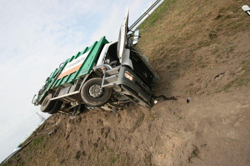 Sunkvežimių avarija