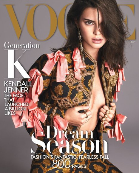 """Vogue"" nuotr./Kendall Jenner"