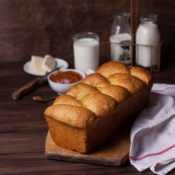"""""""Brioche"""" duona"""