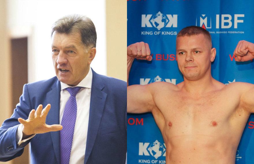 Algirdas Butkevičius ir Kęstutis Smirnovas