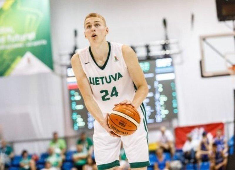 Lietuvos šešiolikmečių rinktinė pradeda Europos pirmenybes