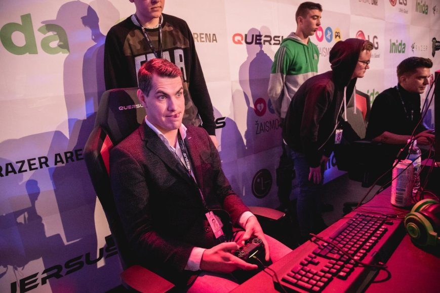 """GameOn 2016"" renginio akimirka"