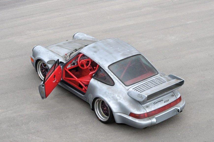"Aukcione parduodamas retas ""Porsche 911"" - versija ""Carrera RSR 3.8"""