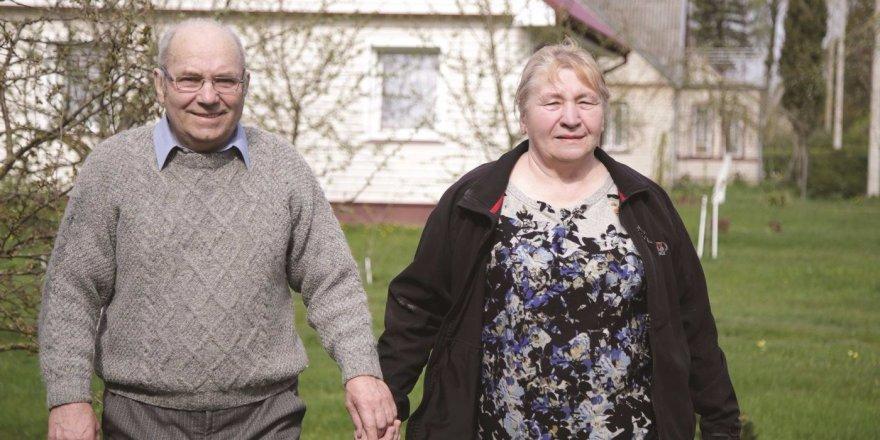 Sviliškiai Leonas ir Janina gegužės 1-ąją sutiko auksines vestuves