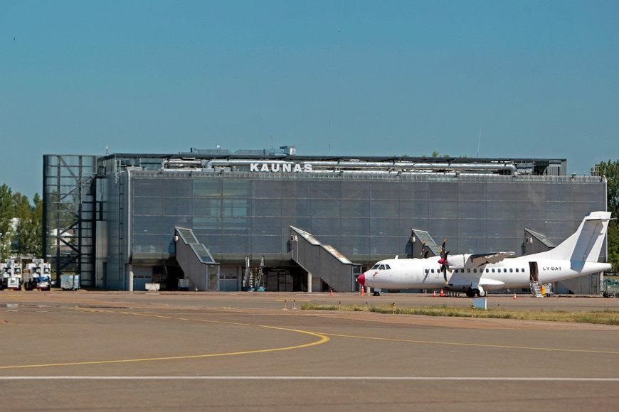 Kauno oro uostas siekia tapti su aviacija susijusių verslų baze