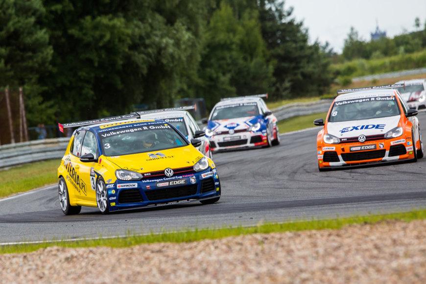 """""""Volkswagen Castrol Cup"""" lenktynės"""
