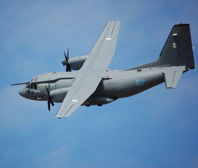 """Lėktuvas """"Spartan"""" C-27J"""