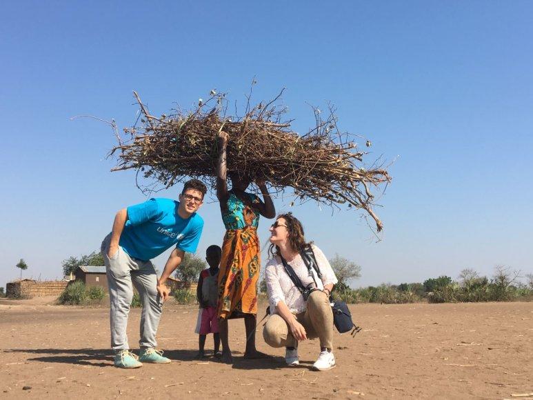 UNICEF nuotr./Donatas Montvydas UNICEF misijoje Malavyje