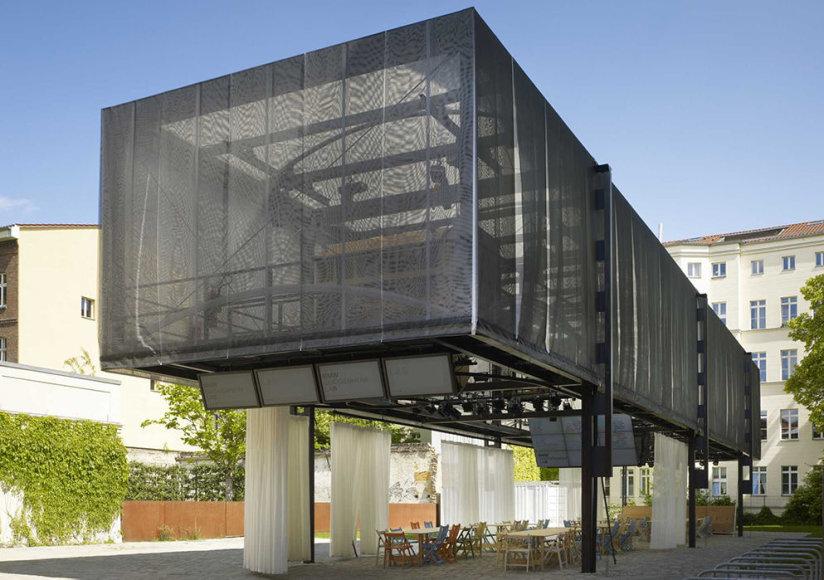 BMW Guggenheimo laboratorijos Berlyne eksterjeras