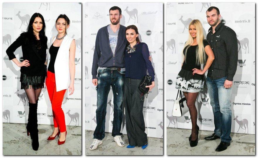 Sandra ir Saulenė Chlevickaitės, Kšištofas ir Tatjana Lavrinovičiai, Diana Martinėlė ir Rimas Petraitis