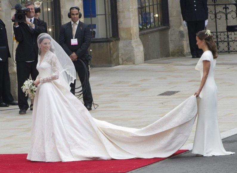 Kembridžo hercogienė Catherine ir jos sesuo Pippa Middleton