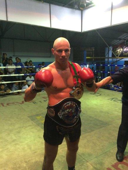 Sigito Gaižausko pergalė Tailande