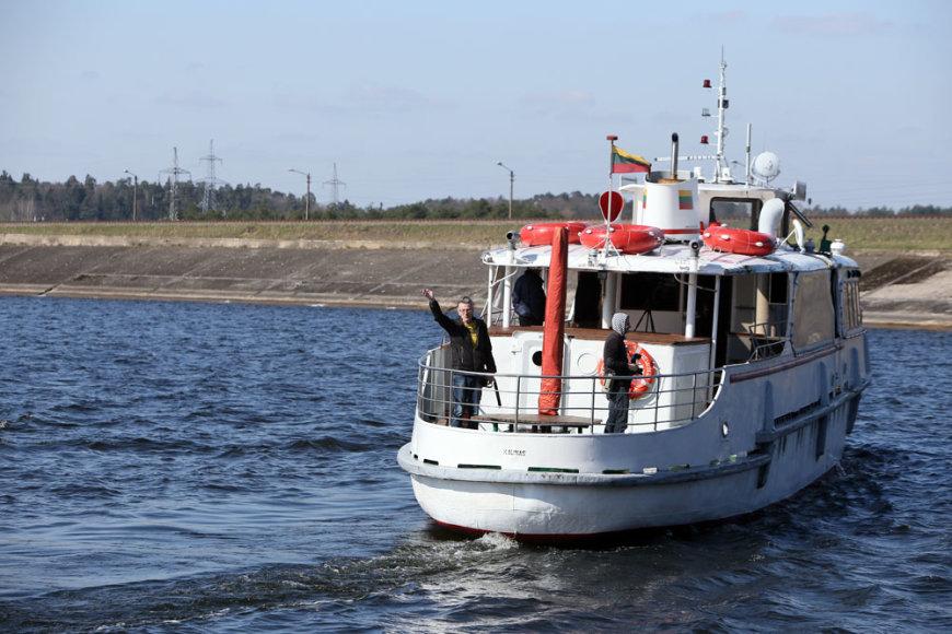 Laivo maršruto pristatymas
