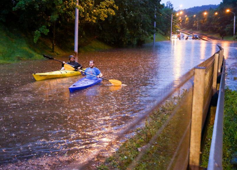 Potvynis Vilniuje
