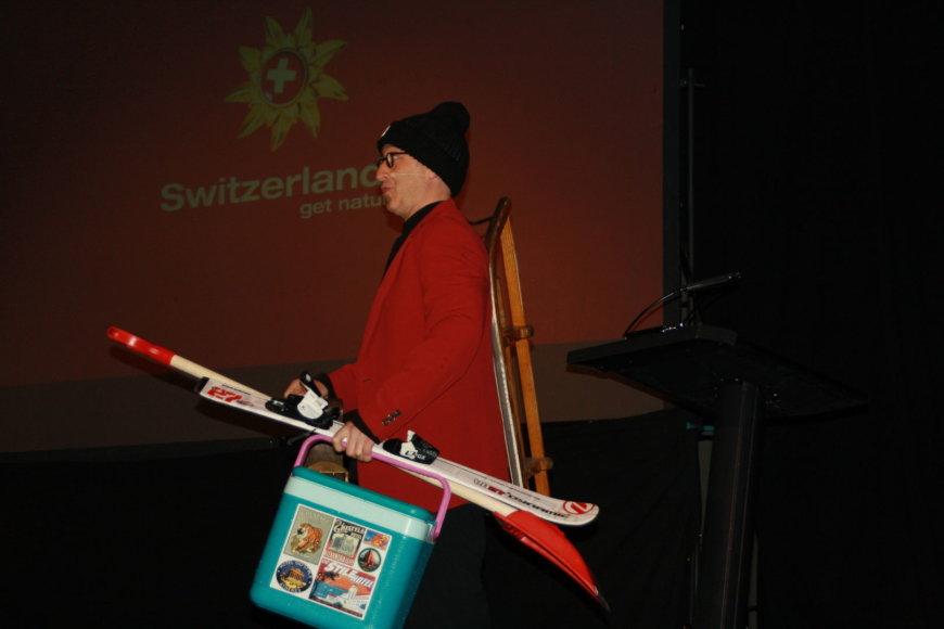 Pasaulio žurnalistų kalnų slidininkų klubo susitikimas