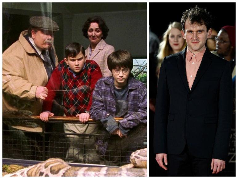 """Harry Mellingasfilme """"Haris Poteris ir Išminties akmuo"""" (2001 m.) ir filmo """"Prarastasis miestas Z"""" premjeroje 2017 metais"""