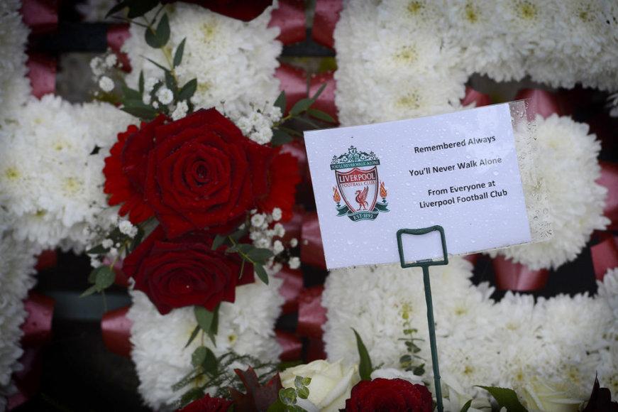 """""""Hillsborough"""" tragedijos aukų pagerbimas"""